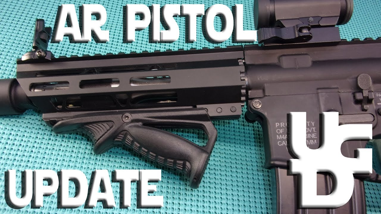 PSA AR Pistol Update Budget Build with Budget Upgrades