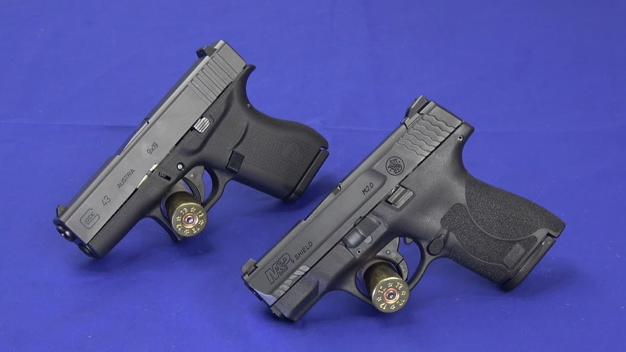 Glock 43 vs Smith & Wesson M&P Shield M2.0