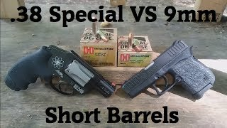 Short Barrels: 9mm VS .38 Special Ep.6- Hornady Critical Defense