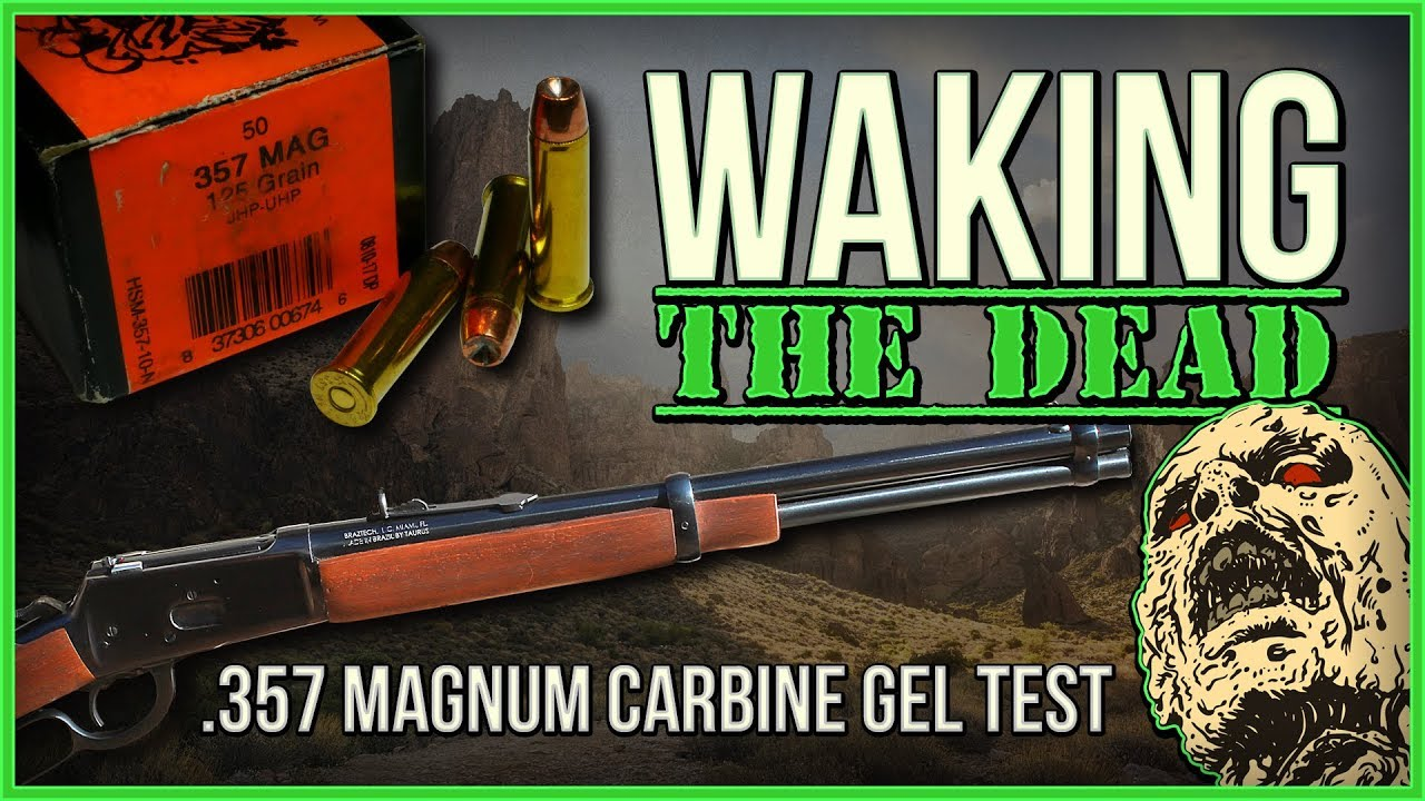 Waking The Dead:.357mag HSM 125gr UHP Carbine Gel Test