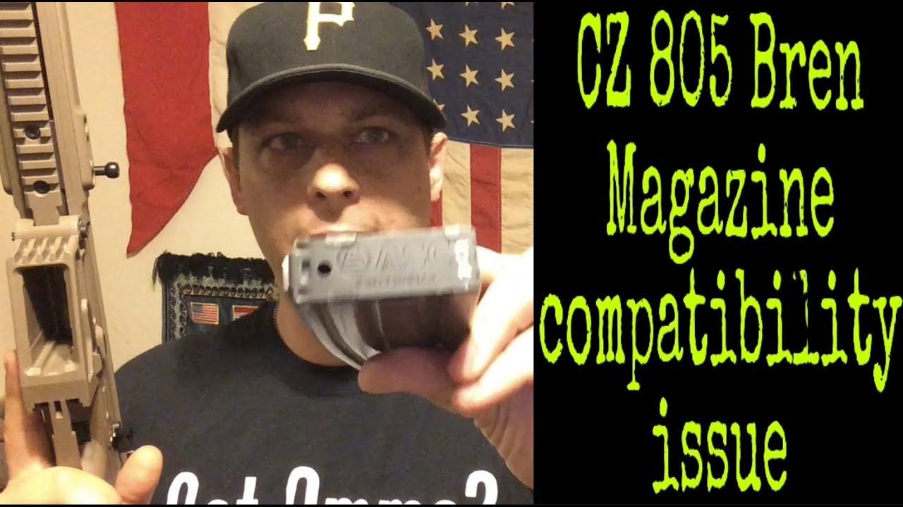 CZ 805 Bren S1 | Magazine Compatibility Issue