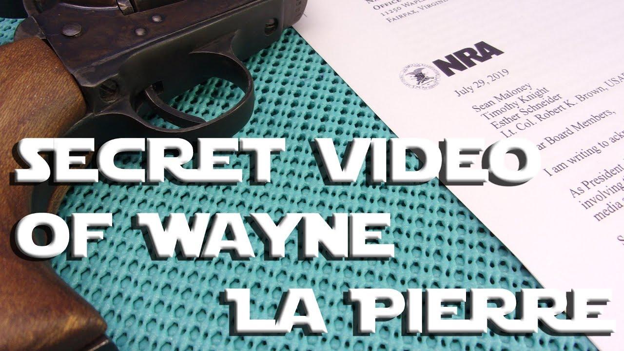 NRA Wayne La Pierre Purge & Money SCANDAL NOW A VIDEO!