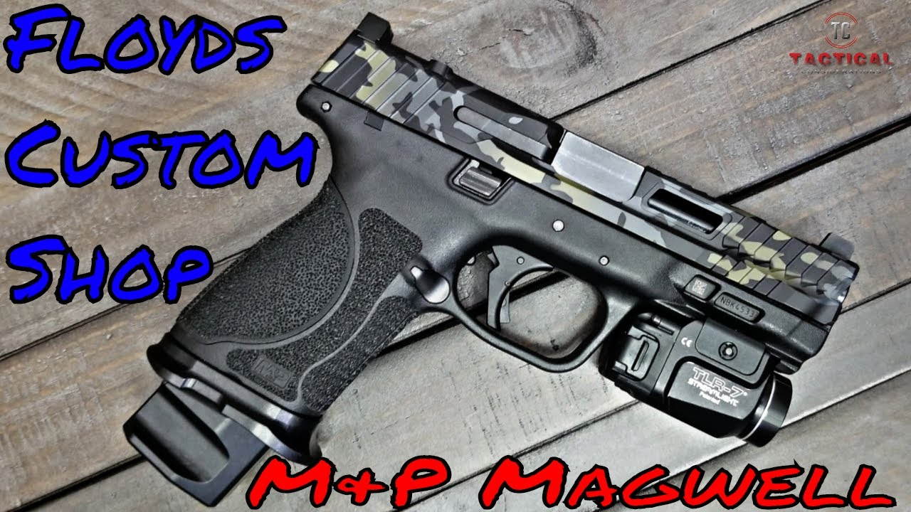 M&P Magwell And Mag Extensions Floyds Custom