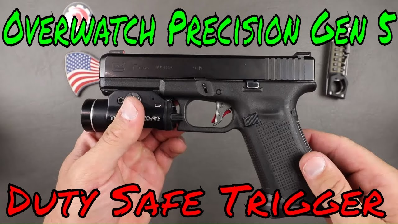 Overwatch Precision Glock Gen 5 Trigger Review