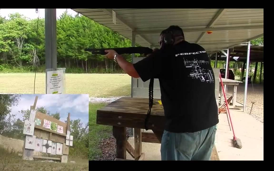 Shotgun at 200 yds