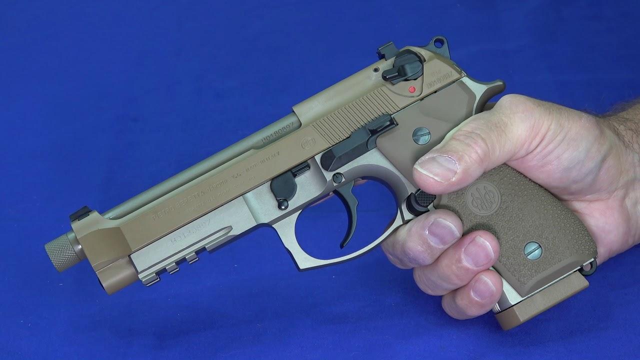 Beretta M9A3 9mm  Review & Range Footage