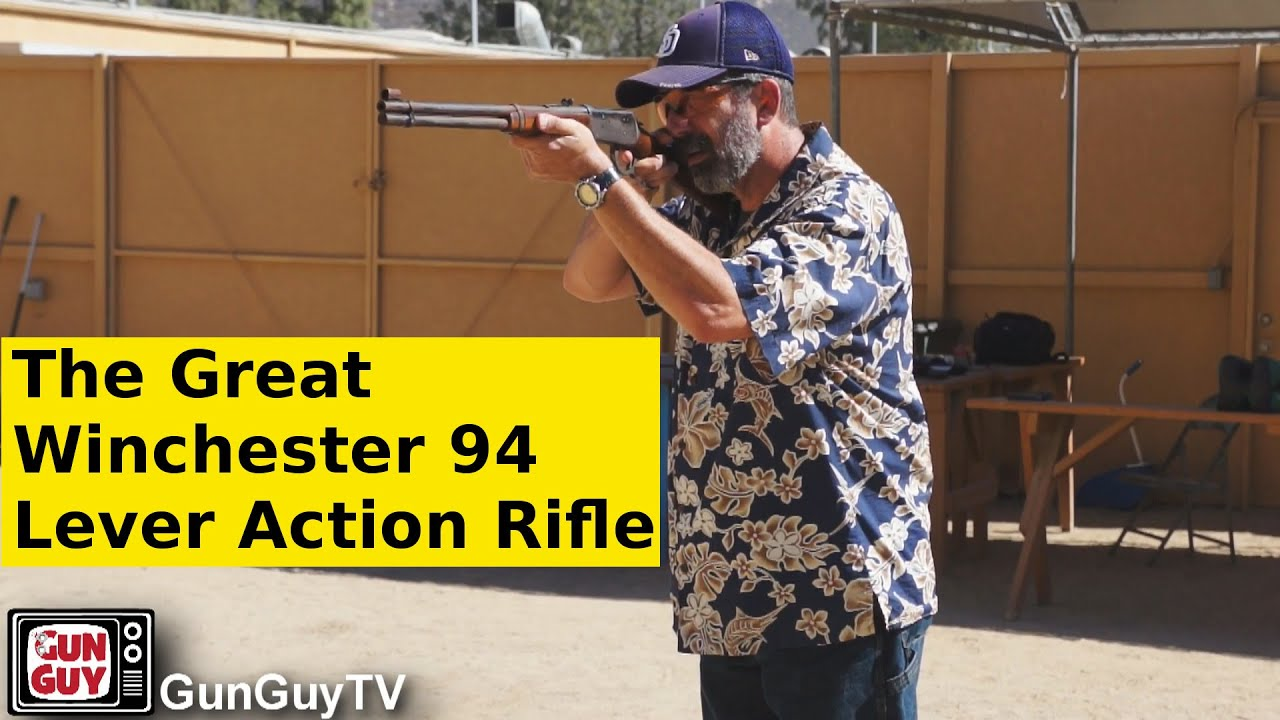 The Trusty Rusty Winchester 94 Lever Action Rifle