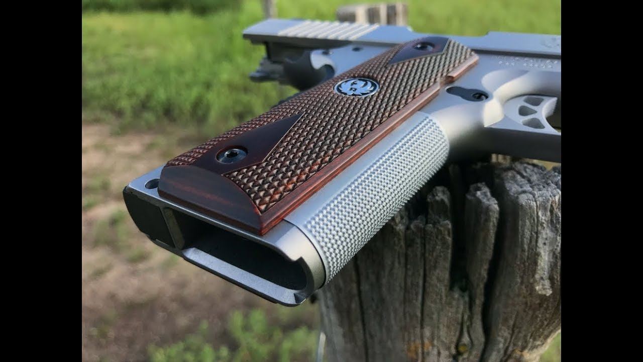 Wilson Combat Checkered Stainless 1911 Front Strap Review!