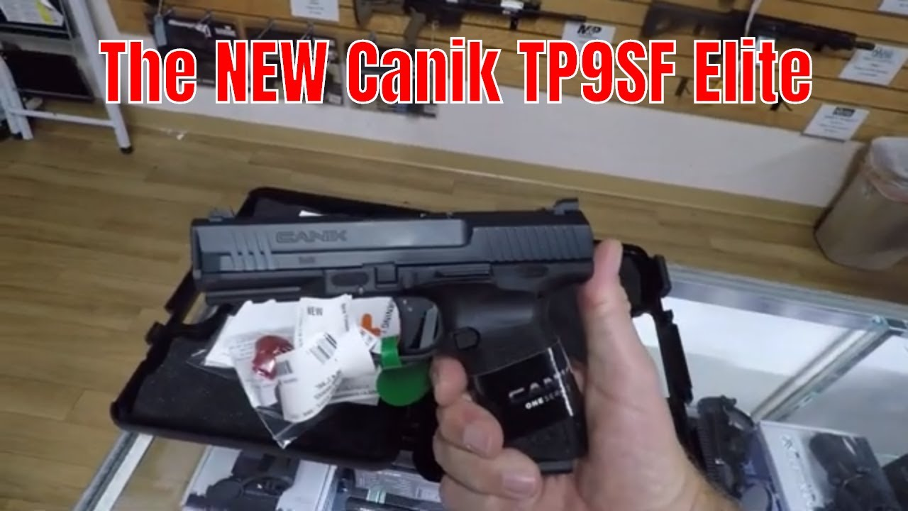 9mmMonday with the Canik TP9SF Elite