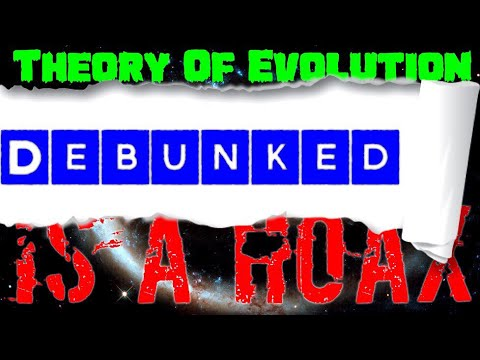 The Evolution Of The Theory Of Evolution