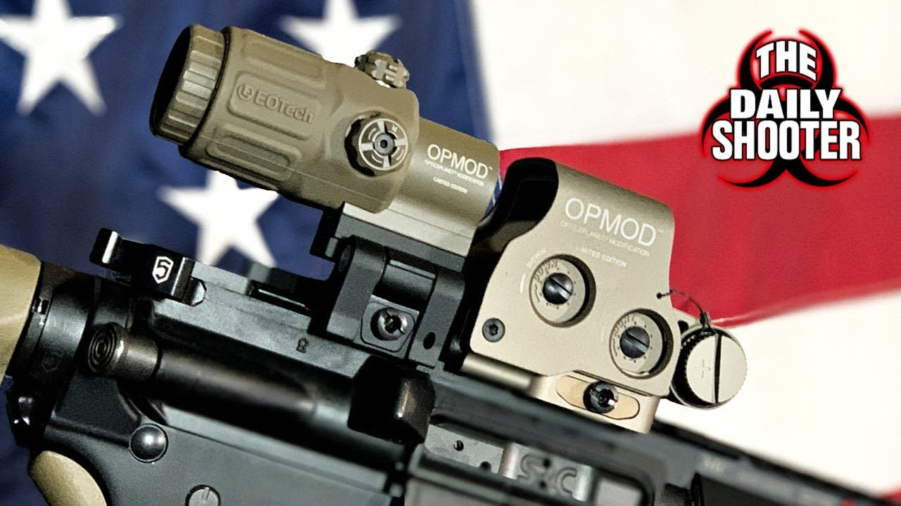 Eotech EXPS3-0 & G33 Magnifier OPMOD Green Reticle Review