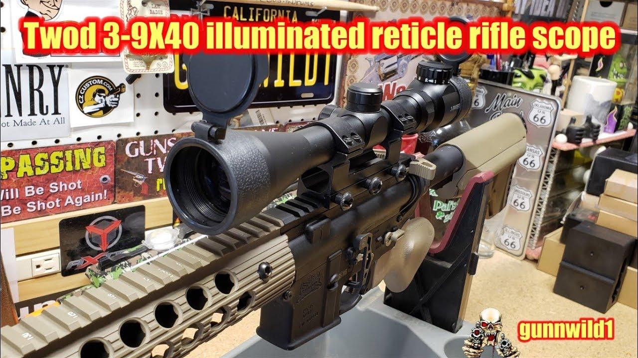Twod 3-9X40 Rifle Scope