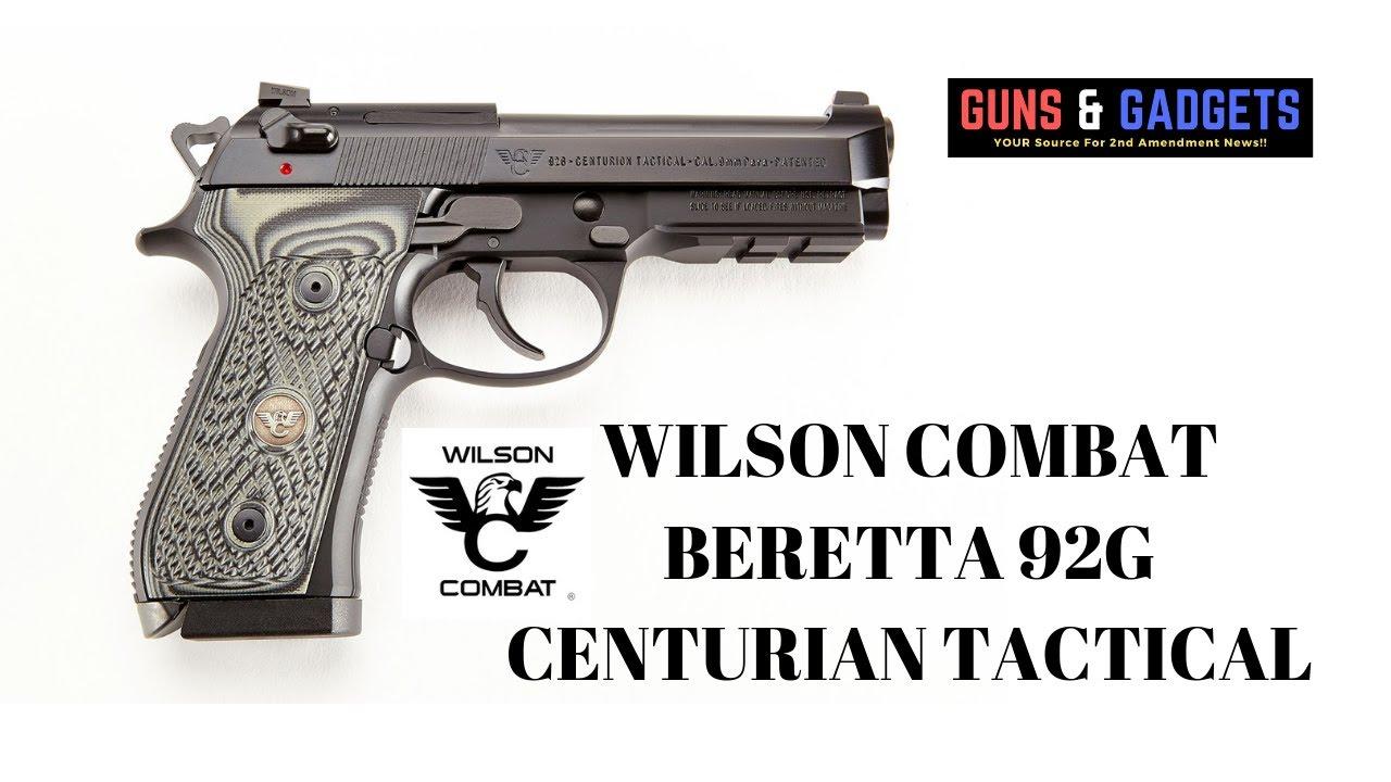 Wilson Combat Beretta 92G Centurian Tactical
