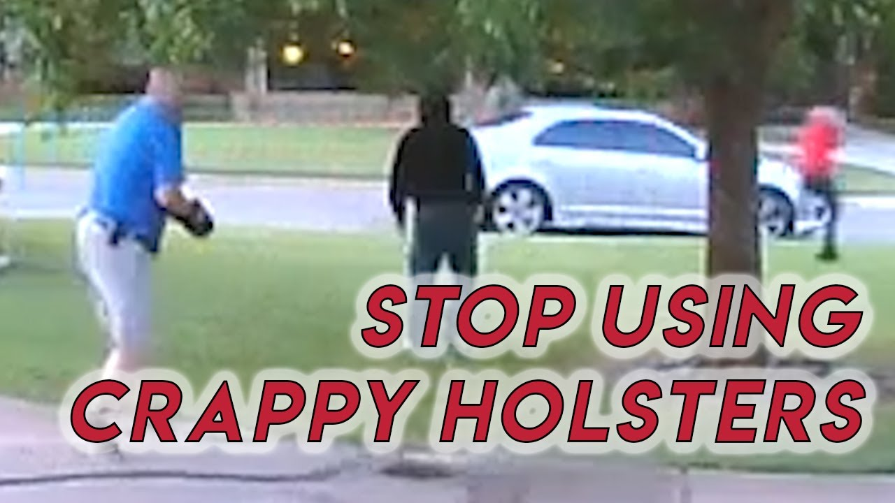 Stop Using Crappy Holsters | Holster Fail During Draw in DGU Incident + Giveaway