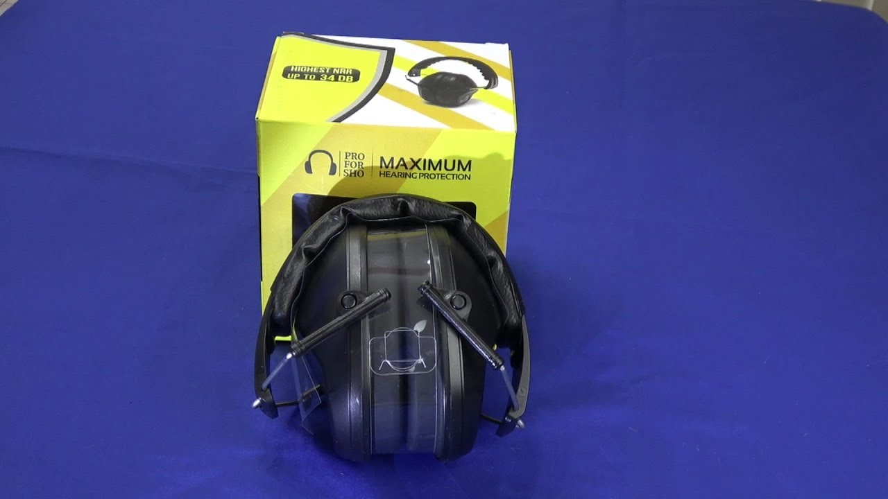 Pro For Sho Ear Muffs for Ear Protection