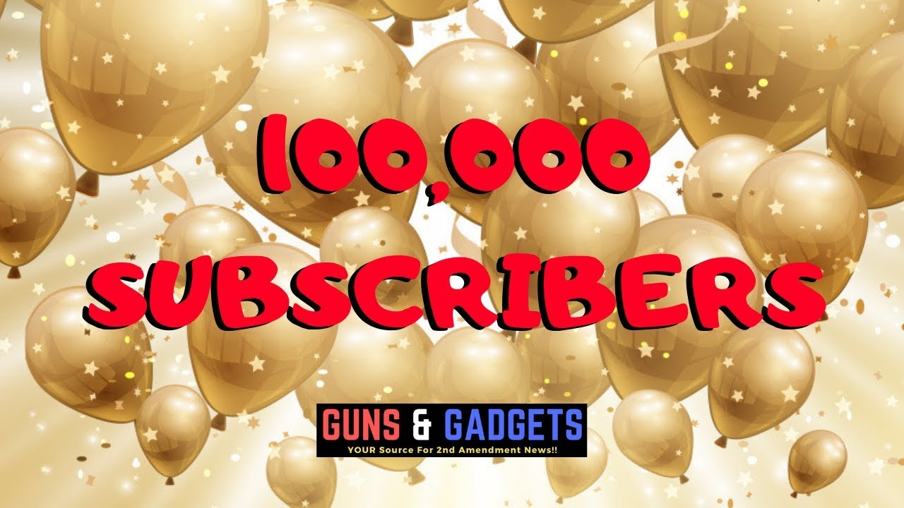 100,000 Subscribers! Plus Giveaway Update!
