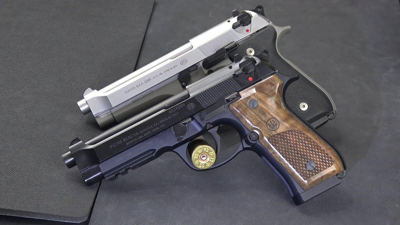 Beretta 92FS vs Beretta 96A1