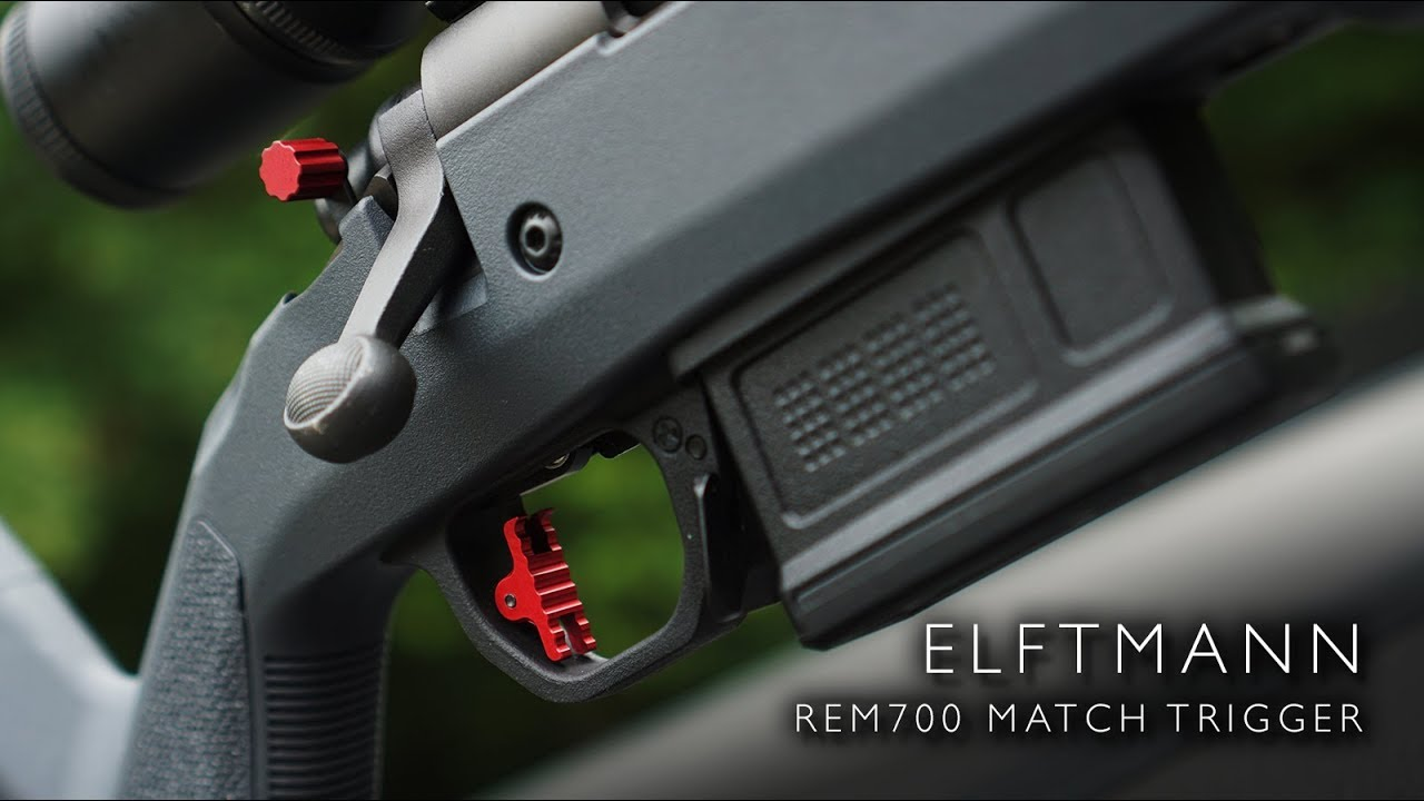Elftmann Rem700 Adjustable Match Trigger