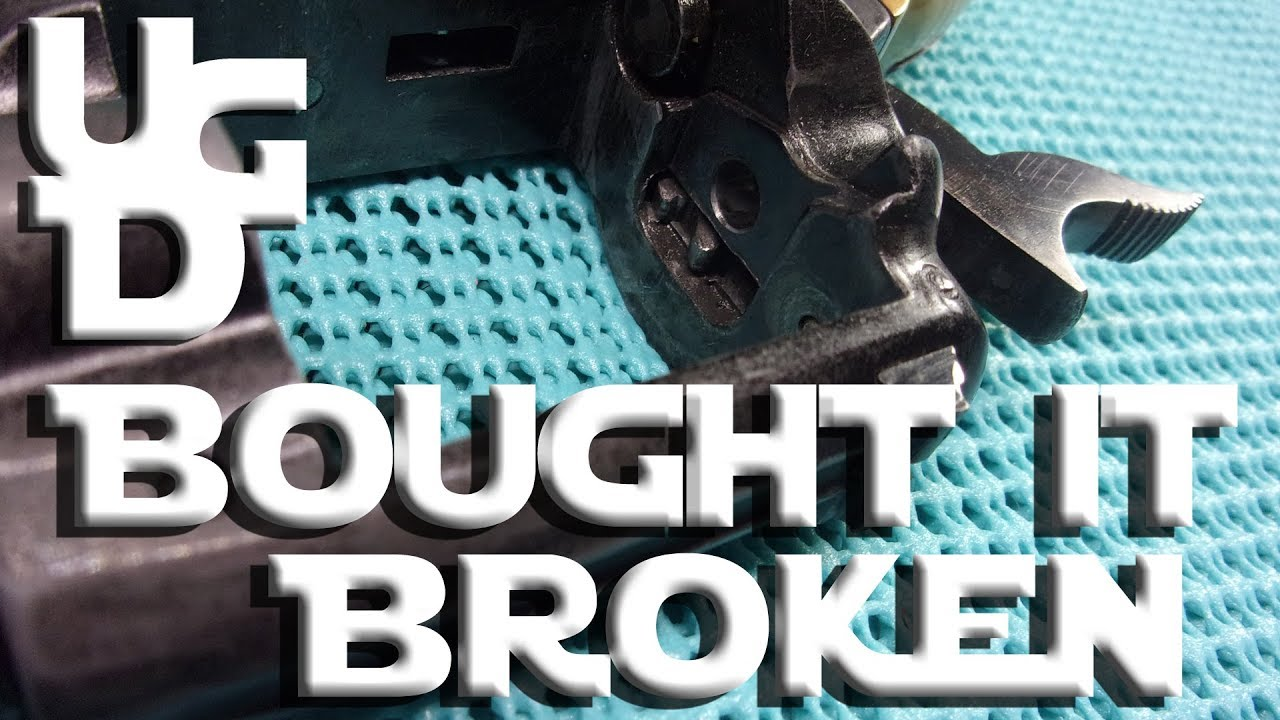 Messing Up On the Armslist Buying a Used Gun BROKEN