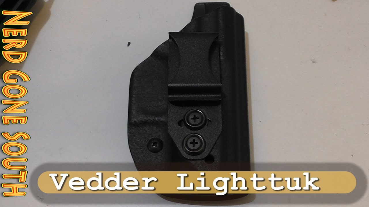 Vedder LightTuk Glock 43 Holster - Holy Grail of Kydex Holsters?
