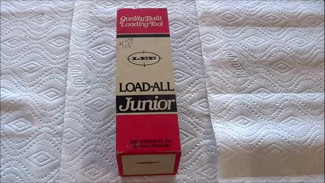 Lee Load-All Junior reloading 12 gauge shells