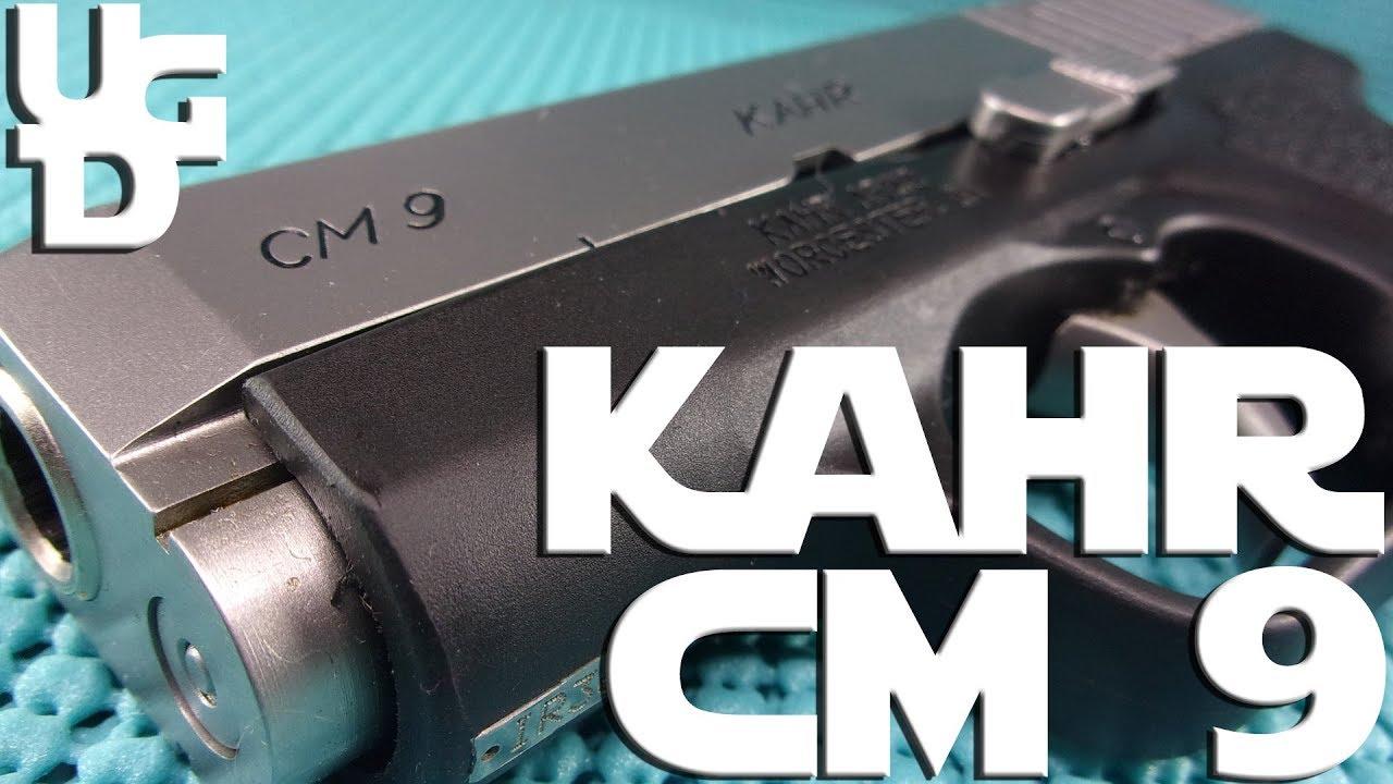 Kahr CM9 1st Look Review, a Little Pocket 9mm