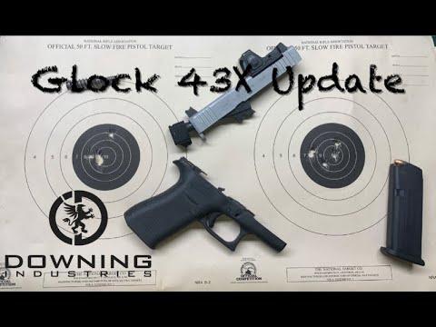 Glock 43X Update