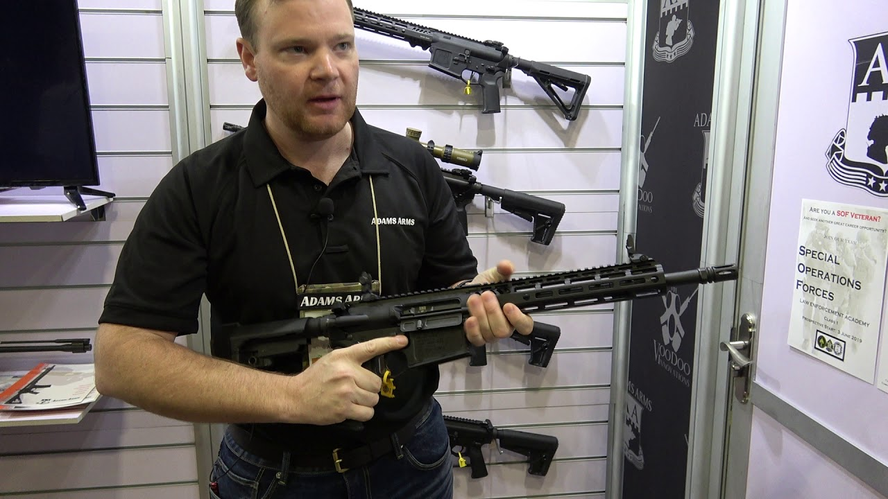 New 308 Pistol From Adams Arms at SHOT Show 2019