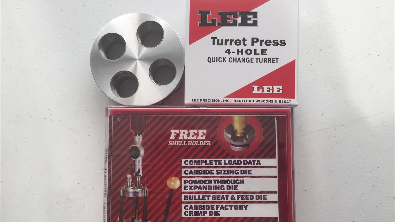 Lee turret press die setup (pt1) install