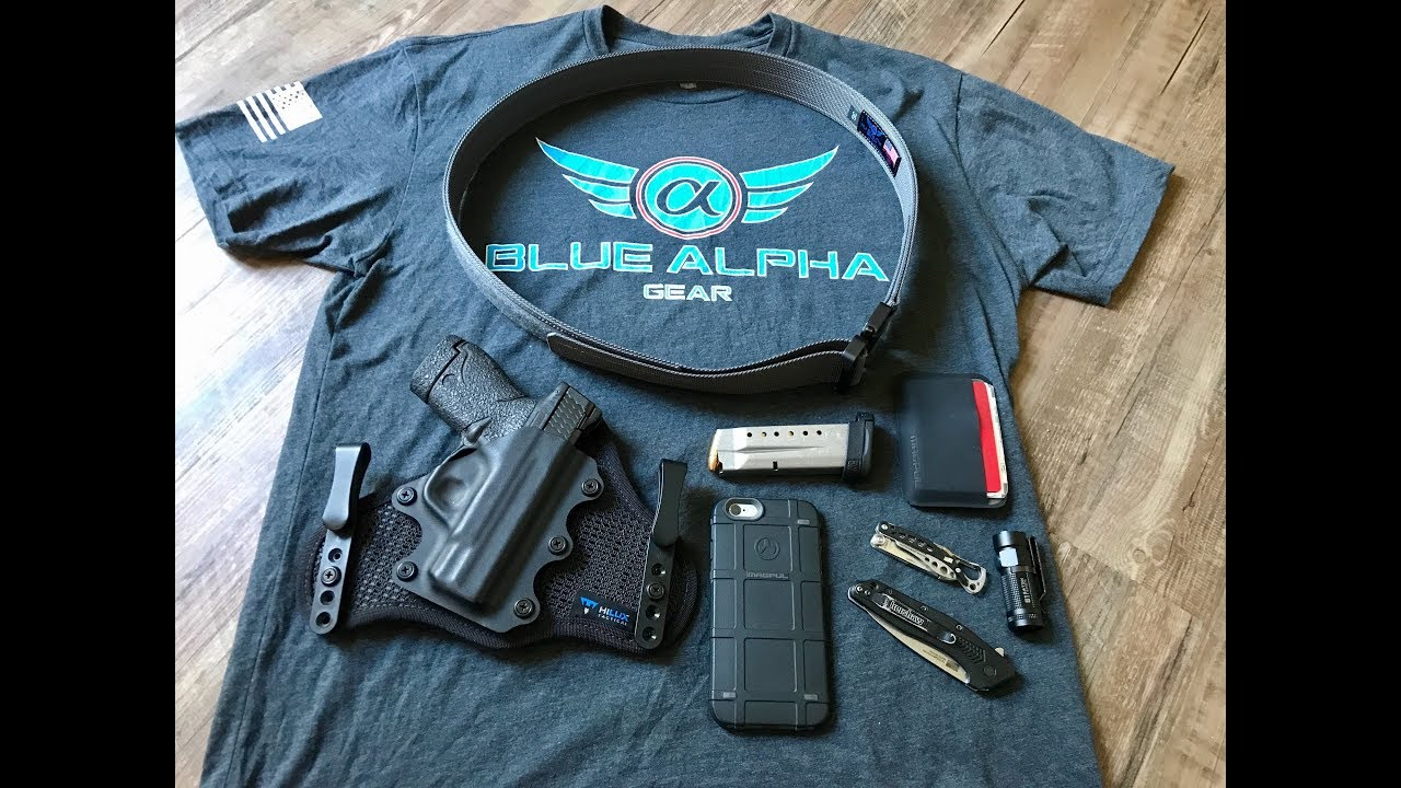 Blue Alpha Gear Hybrid EDC Cobra Belt Review