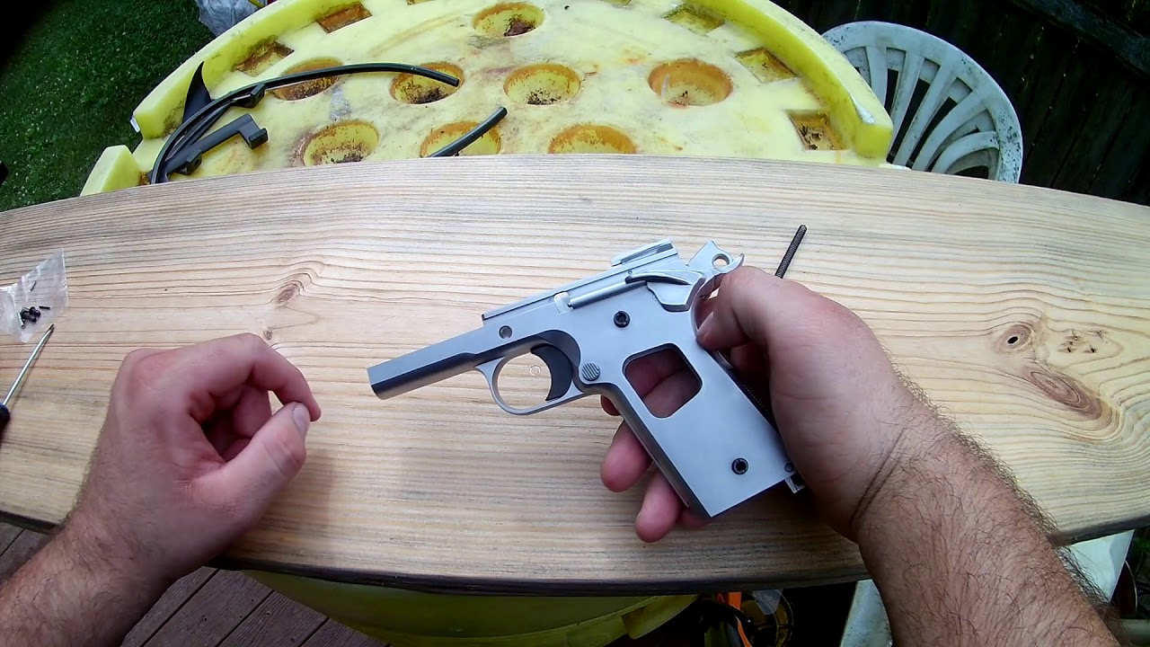 First 1911 Build - Frame Assembly