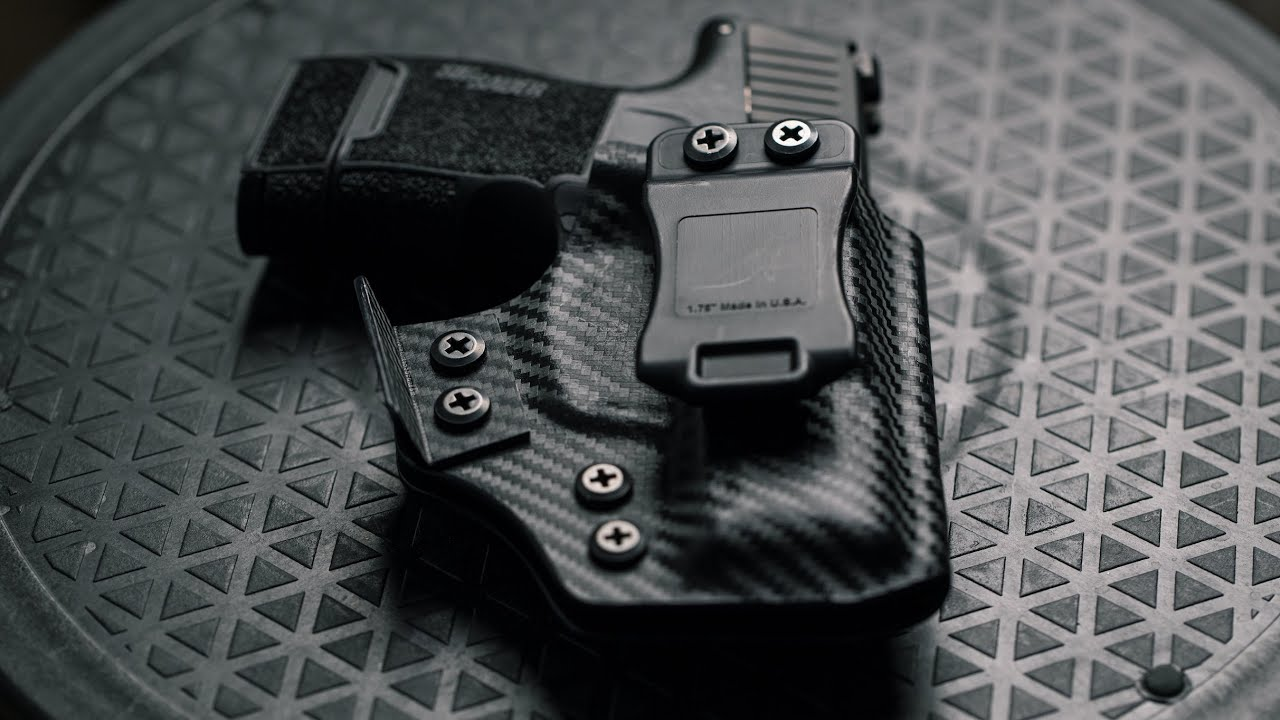The More Discrete IWB kydex holster QVO tactical | Sig Sauer p365 2019