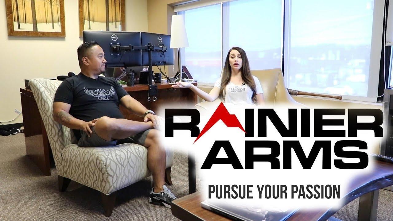 Touring Rainier Arms