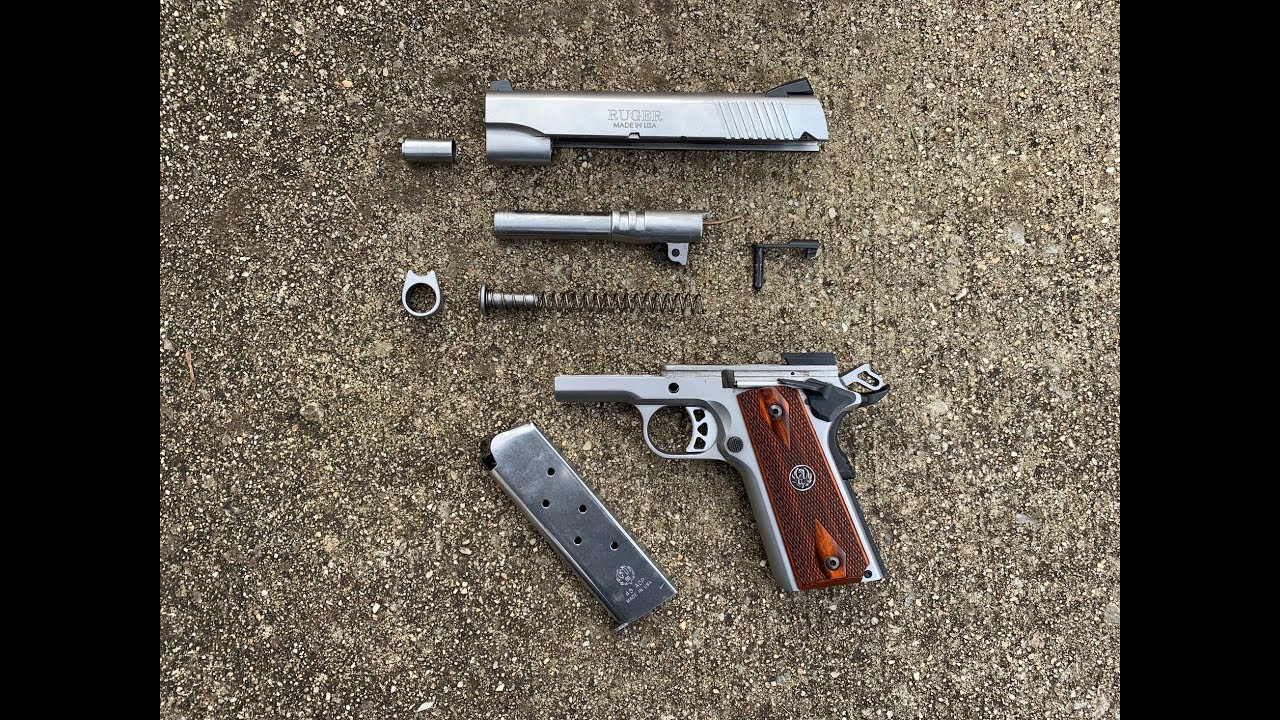 How To Clean a 1911 | Ruger SR1911 Commander
