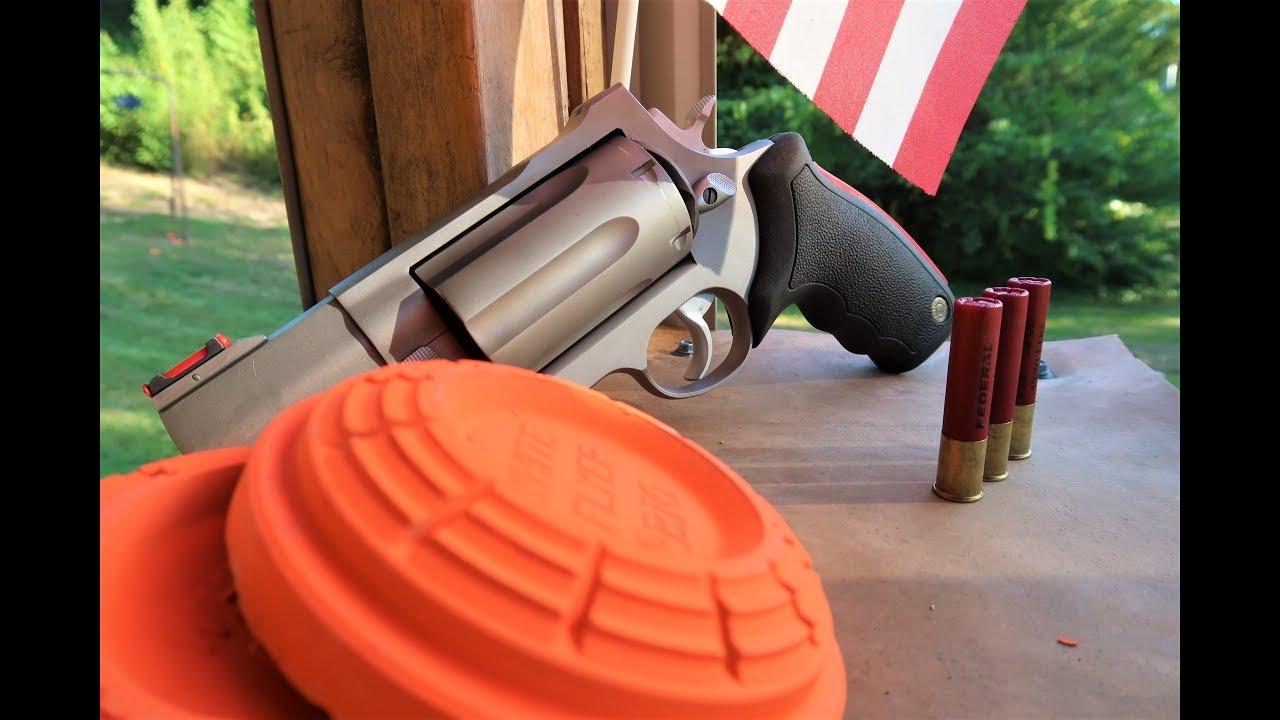 Clays with Raging Judge Magnum! - Taurus Model 513