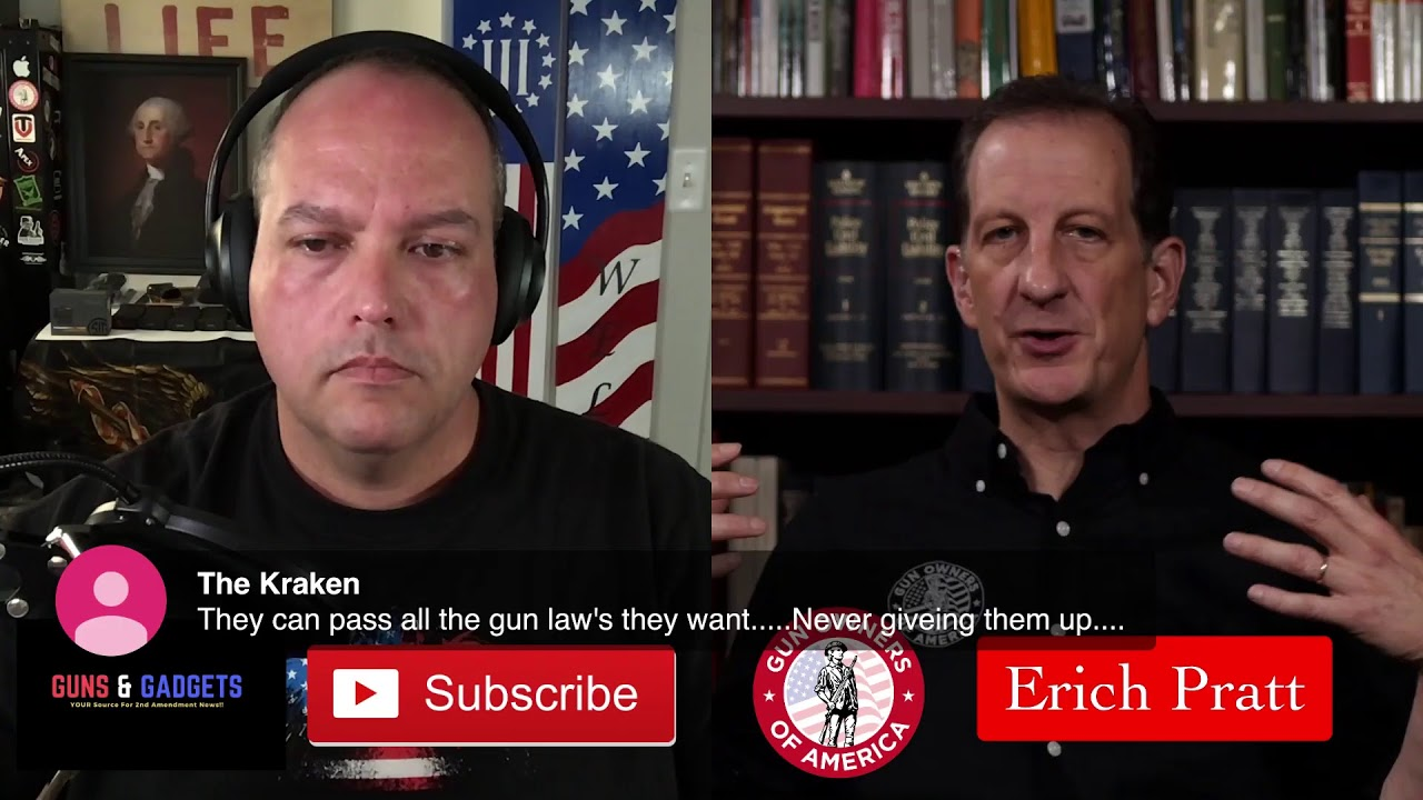 Talking Gun Control With Erich Pratt of Gun Owners of America