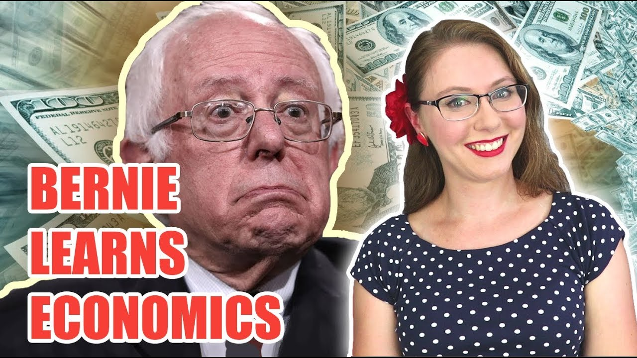 Bernie Sanders Learns Economics (In One Easy Lesson)