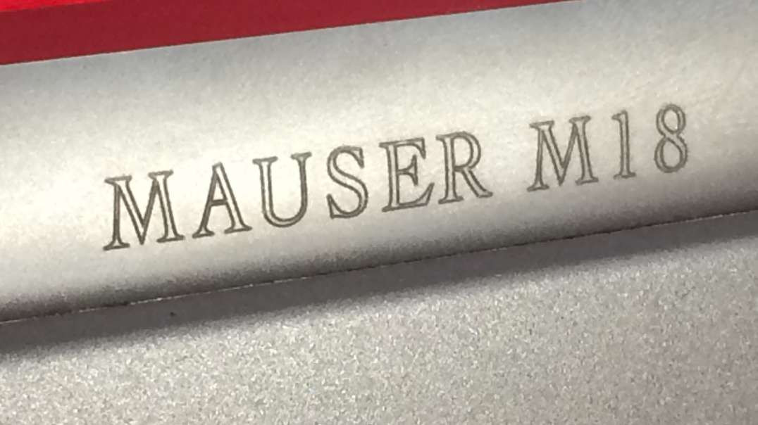 Mauser M18 unboxing