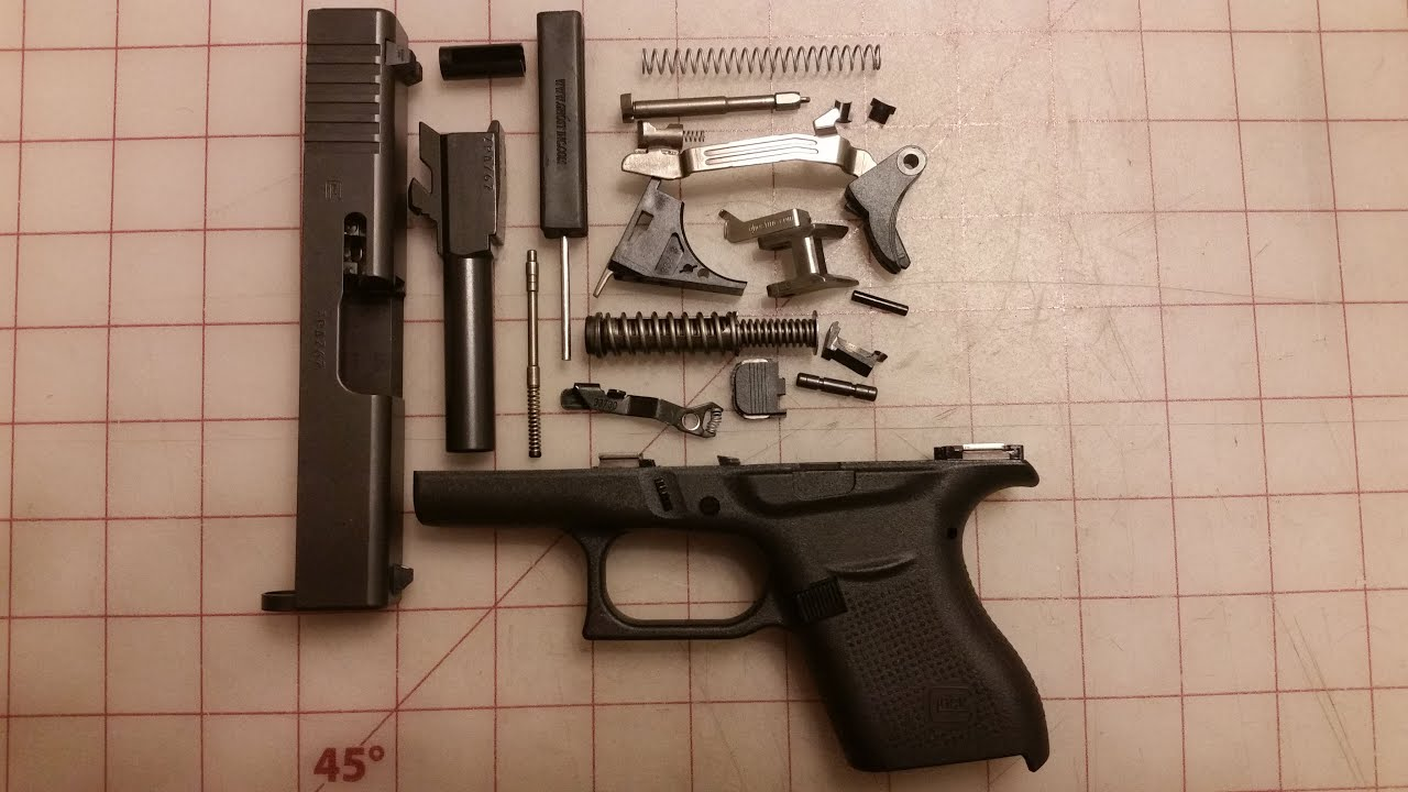 Glock Trigger Upgrade: Full disassembly/Trigger upgrade/Reassembly