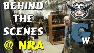 Ultimate Firearms Collection; Behind the Scenes @ NRA Museum, Library & Archive