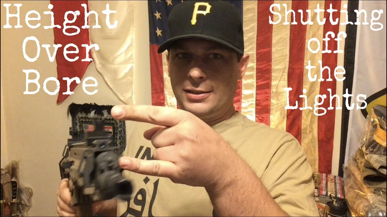 Height over bore offset | Shutting off the lights