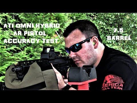 ATI Omni Hybrid 7.5 AR Pistol 100 Yards [Part 1 Of 2]