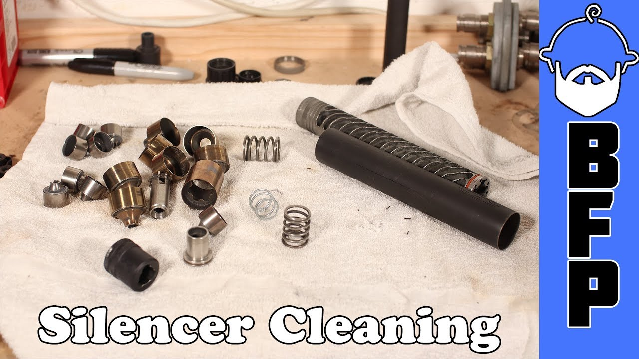 Silencer Cleaning