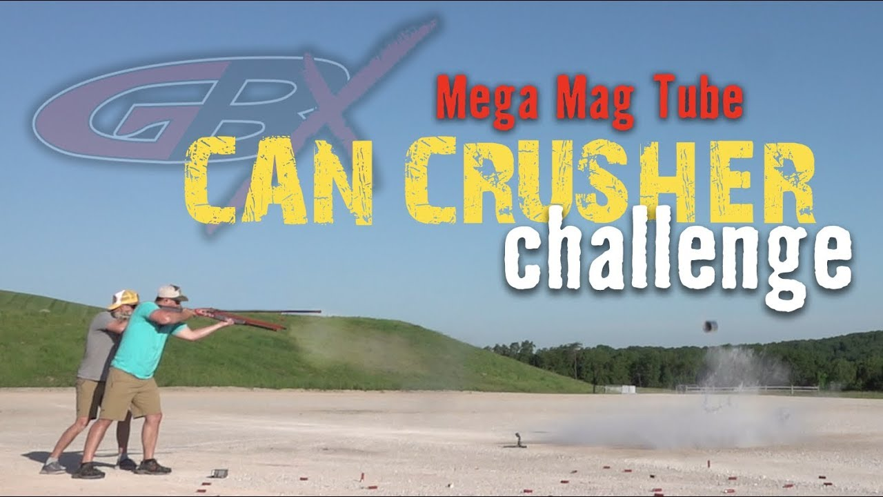 Mega Mag Tube Can Crusher Challenge | Gould Brothers
