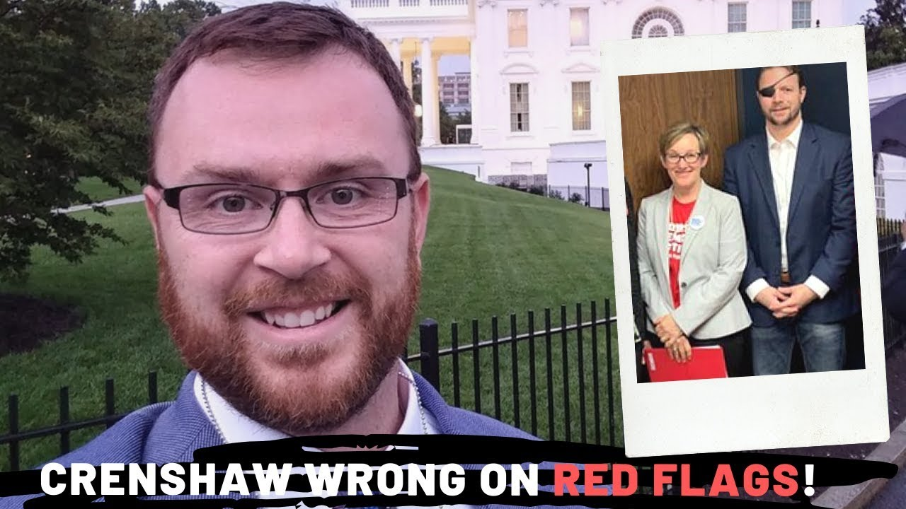 Rep. Crenshaw is Wrong on Red Flag Laws! My Reaction to His Instagram Video Supporting Them.