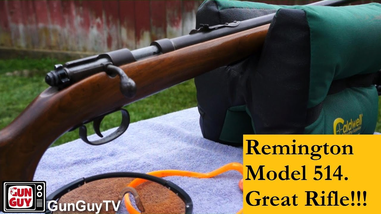 A wonderful and classic rifle for kids - Remington Model 514