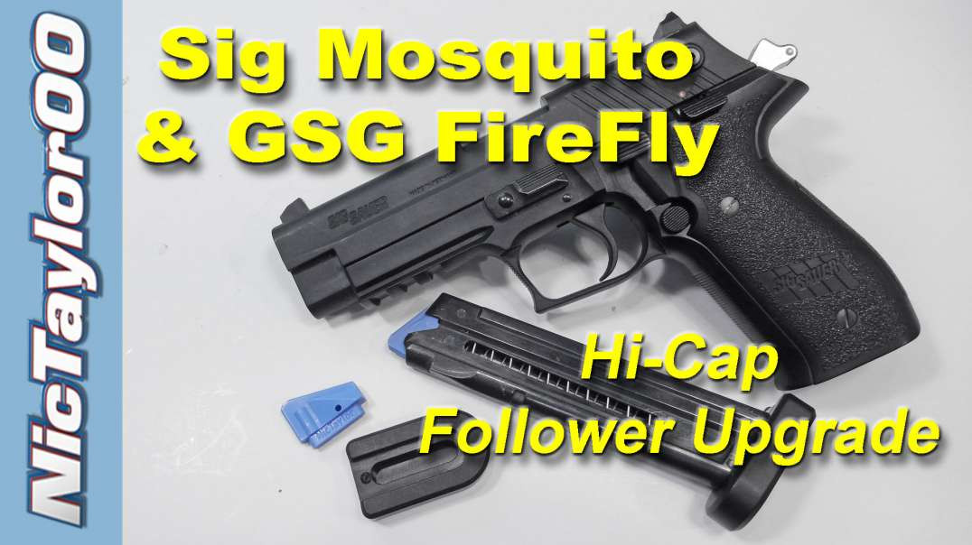 The NicTaylor Follower for the Sig Mosquito & GSG FireFly