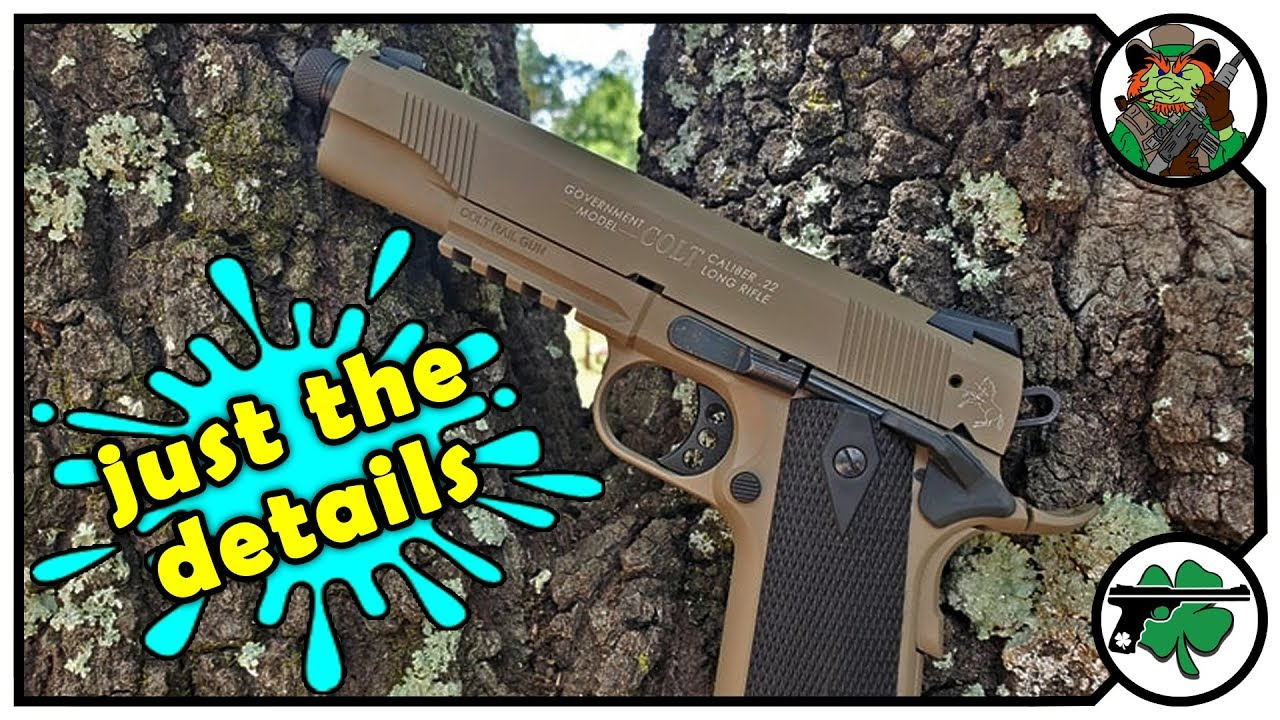 Colt 1911A1 22 Features & Specifications Bench Review