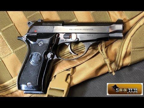 Beretta Model 81 Cheetah 32 ACP Pistol Review