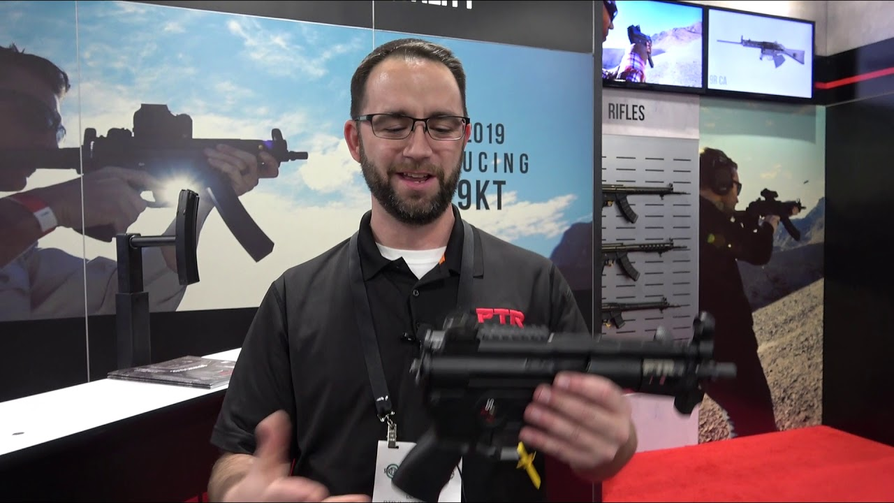 PTR Industries New Offerings MP5K at SHOT Show 2019